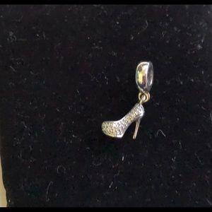 Jewelry - Pandora Sparkling Stiletto Dangle Charm, 791536cz
